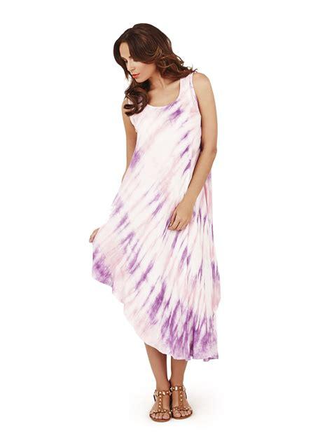 Midi Maxi Dress new midi maxi tie dye dress womens summer sun straps ebay