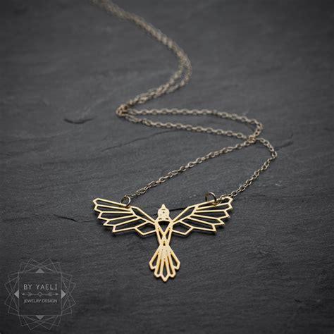 Ring Pendant By Bird by Bird Necklace Necklace Geometric Bird