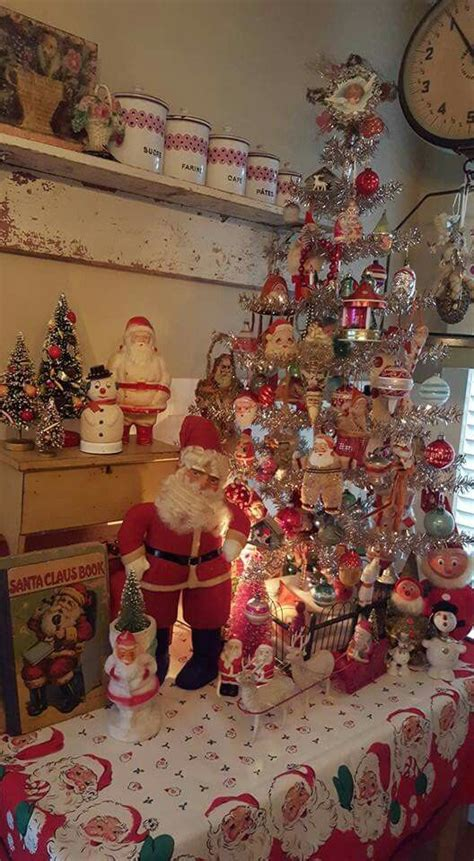 17 best ideas about vintage christmas decorating on