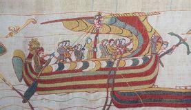 tappezzeria di bayeux tappezzeria di bayeux immagine stock libera da diritti