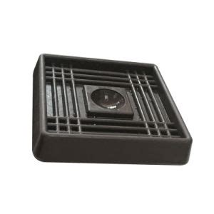 4 Inch Square Rubber Furniture Cups by China 2 Inch Square Rubber Furniture Cups 4 Pack China
