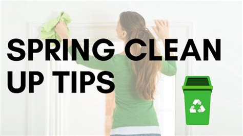 It S Time For Spring Cleaning And We Don T Mean Your | it s time for spring clean up tips for your home garden
