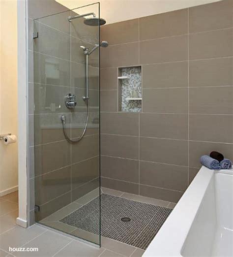 Shower Rail For Corner Bath slippery tile floor in shower 2 photos floor design ideas
