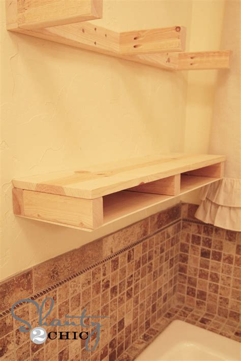 how to build floating shelves how to build floating shelf plans free