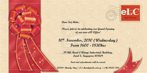 Invitation Cards Fotolip Com Rich Image And Wallpaper Opening Ceremony Invitation Card Template