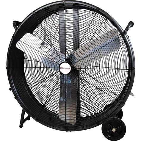 high velocity shop fan shop utilitech 36 in 3 speed high velocity fan at lowes com
