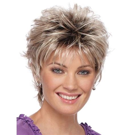 hairstyles images free natural blonde mix short curly women female lady hair full