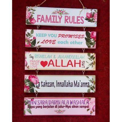 Jual Beli Hiasan Gantung jual hiasan dinding gantung shabby chic susun 5 family di lapak replica toys diecast