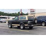 1988 Ford Bronco  Overview CarGurus