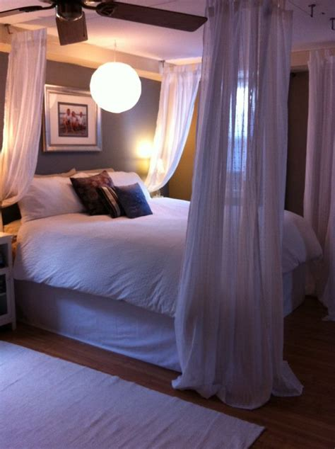 four poster bed curtains ikea my master bedroom ideas ikea hack used dignitet curtain wire system with curtain