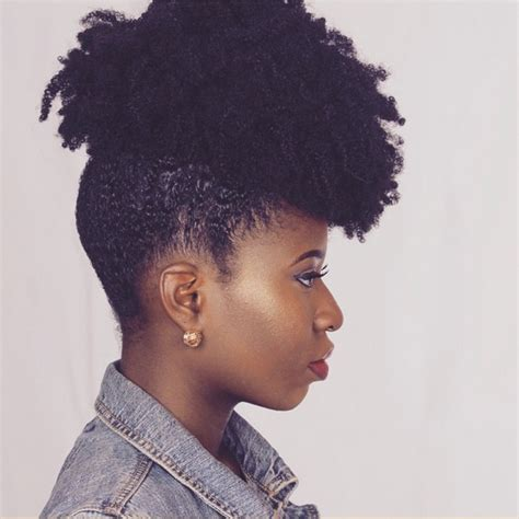 kinky coily hairstyles with tapered sides and back kinky coily hair styles naturally temi 3 curls understood