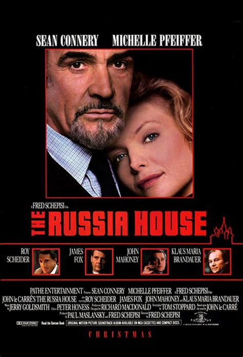 The Russia House by Poster For The Russia House Flicks Co Nz