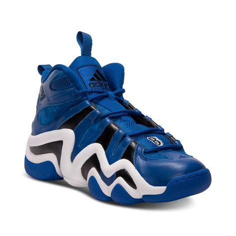 adidas 8 basketball shoes adidas 8 basketball sneakers in blue for royal