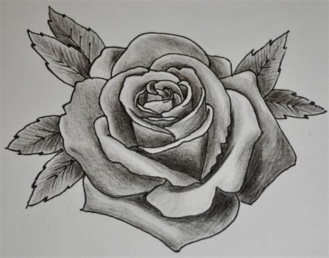black shaded rose tattoos black and grey shaded tattoos try a new grey