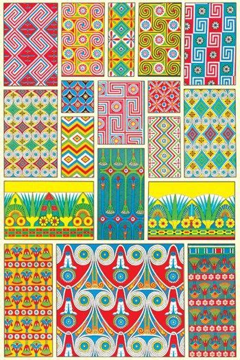 design art egypt egyptian design 2 fine art print wall papers and