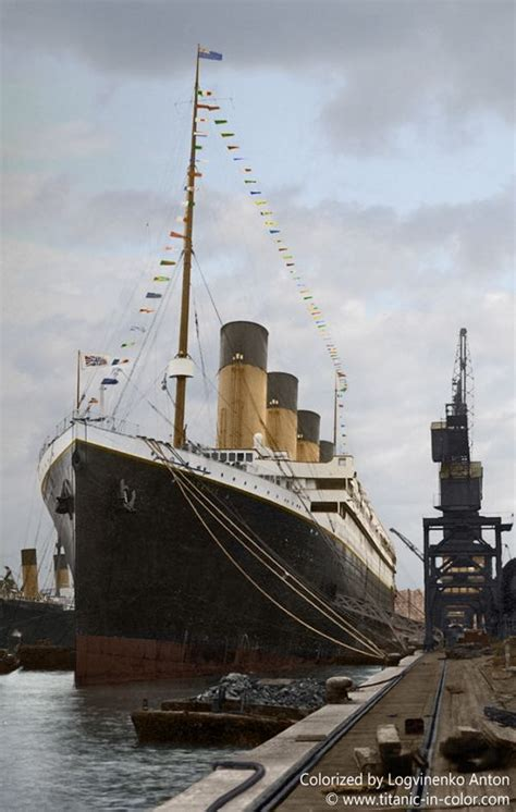 titanic on pinterest rms titanic decks and ships rms titanic in color ships and seas pinterest rms