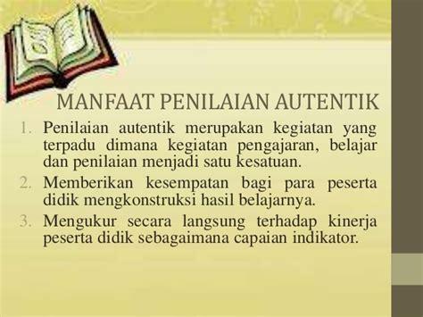 ppt penilaian autentik ppt penilaian autentik