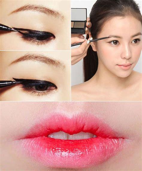 tutorial makeup korea pinterest pretty simple korean inspired makeup tutorial art of