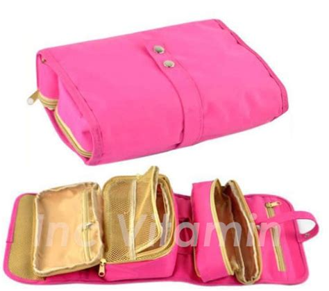 Tas Roll Makeup new roll up travel organizer toiletry