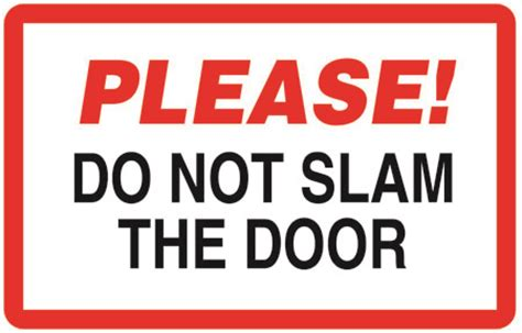 Slam The Door by Do Not Slam The Door