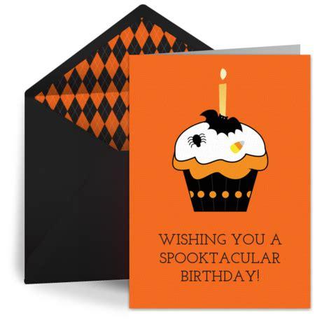 halloween happy birthday  happy halloween ecard greeting card halloween