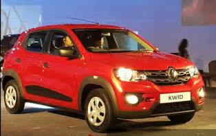 Renault Ind Renault Kwid India Launched Price Specification