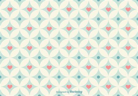 vector heart tutorial geometrical hearts vector pattern download free vector