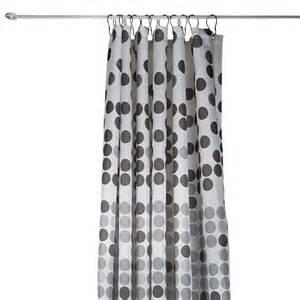 rideau de 224 pois gris c tendance