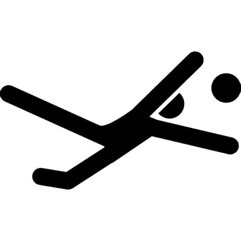 portiere calcio portiere di calcio dietro la palla scaricare icone gratis