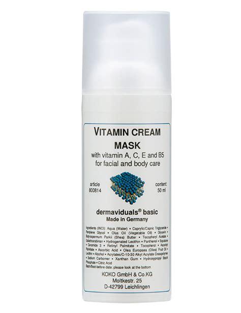 Masker Vitamin vitamin mask dermaviduals