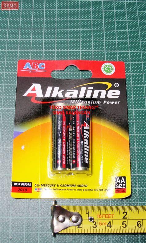 Alkaline Aa Isi 2 jual baterai aa a2 abc alkaline lr06 1 5v batre battery