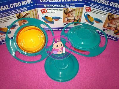 Universal Gyro Bowl Baby Food Mangkok Makan Murah Premium Impor Bayi wholesaleklang gyro bowl new