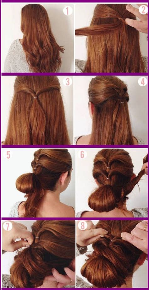 Hairstyles For School Step By Step With Pictures by Prom Hairstyles Step By Step