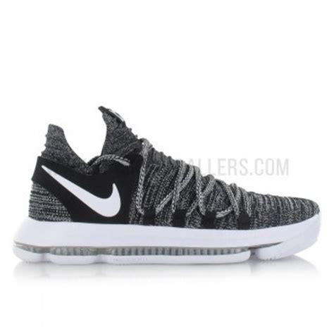 Sepatu Basket Nike Kd 10 Low Oreo nike zoom kd 10 oreo basket4ballers