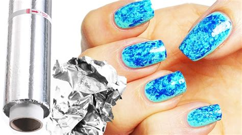 tutorial nail art paper nail art tutorial carta stagnola foil youtube