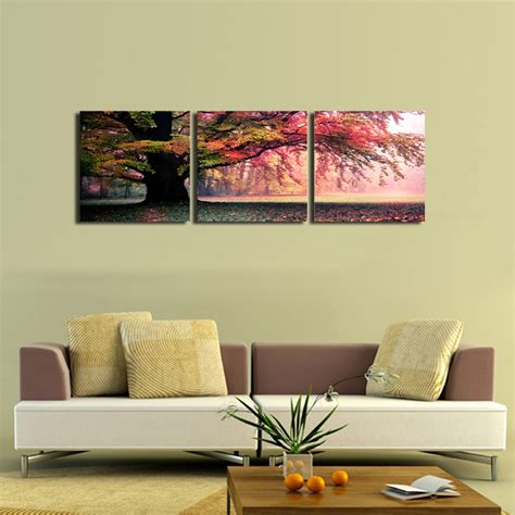 Living Room Canvas Art | 3 piece wall art painting pictures print on canvas