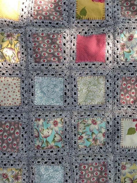 Crocheted Quilts by Lillian S Stitches Fusion Blanket Complete