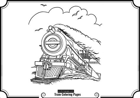 The Polar Express Free Colouring Pages Polar Express Coloring Page