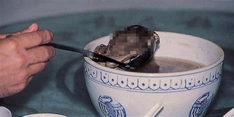 Harga Sedot Janin Demi Kesehatan Janin Pun Dihidangkan Sebagai Sup