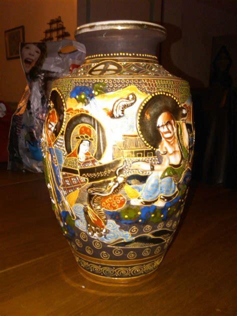 vasi satsuma vase japonais satsuma