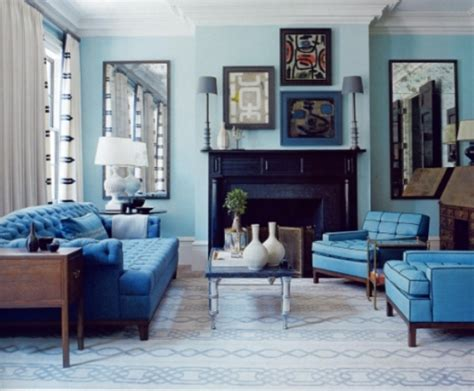 blue livingroom living room decorating ideas blue home decoration ideas