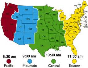 Pin usa times zone map on pinterest