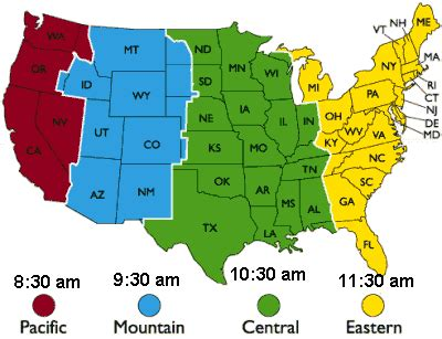 us map time zone clock time zones usa