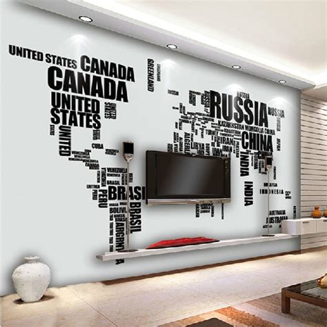 world wall stickers large alphabet world map removable wall stickers