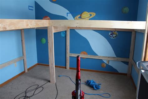 Corner Bunk Bed Plans Boys Room Makeover Diy L Shaped Loft Beds Part I Timandmeg Net