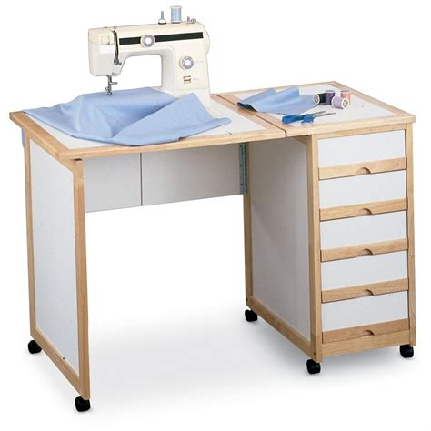 Mobile Sewing Desk by Homestyles 174 Portable Sewing Craft Table 39830 Hobby