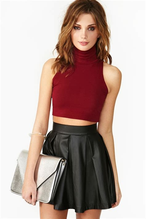 crochet what s up hello lace dress leather skater skirts