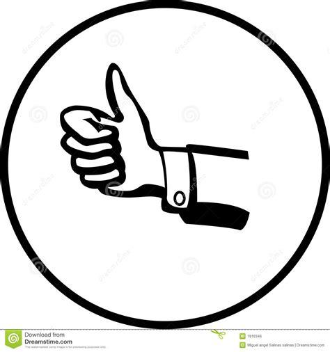 imagenes positivas en blanco y negro sinal positivo da m 227 o imagem de stock royalty free
