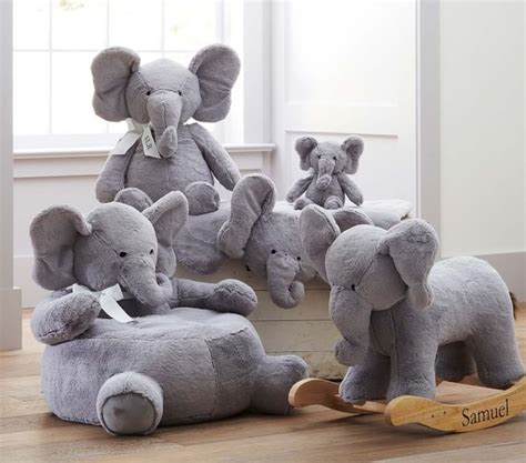 Elephant Plush Rug by Pottery Barn Elephant Rug Roselawnlutheran