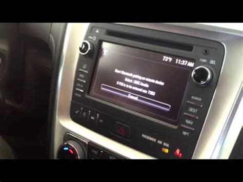 gmc bluetooth pairing pairing bluetooth in a 2013 acadia
